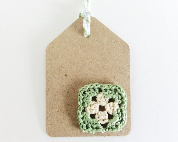 Granny Square Gift Tags