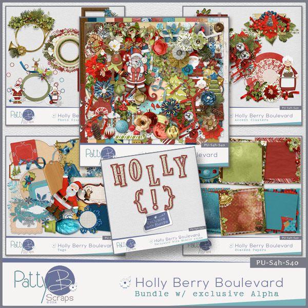 Holly Berry Boulevard Bundle