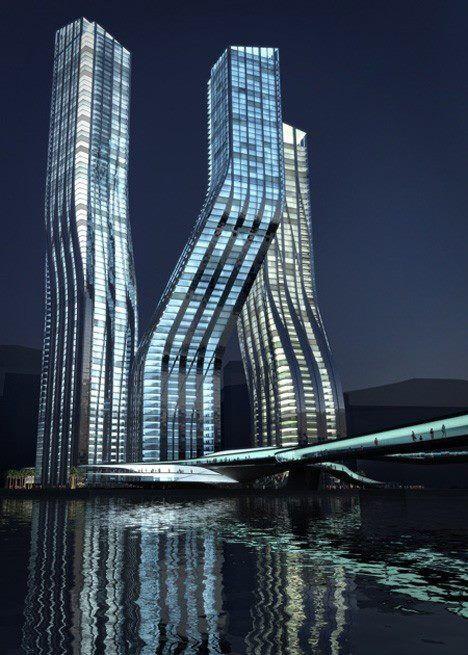 Dancing Towers, Dubai.