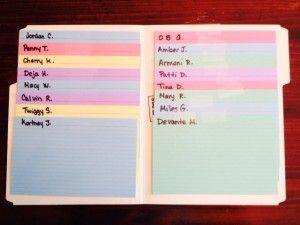 Organizing Anecdotal Files