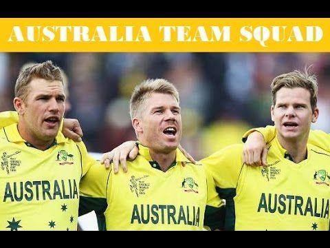 ICC Champions Trophy  Australia Squad For Champions Trophy 2017