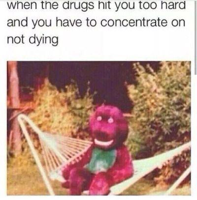 Barney meme