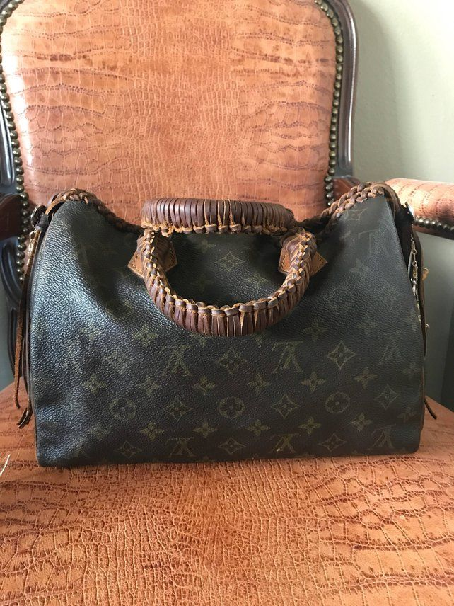 d20cf8d3fa5 Louis Vuitton Upcycled Refurbished   Fringe