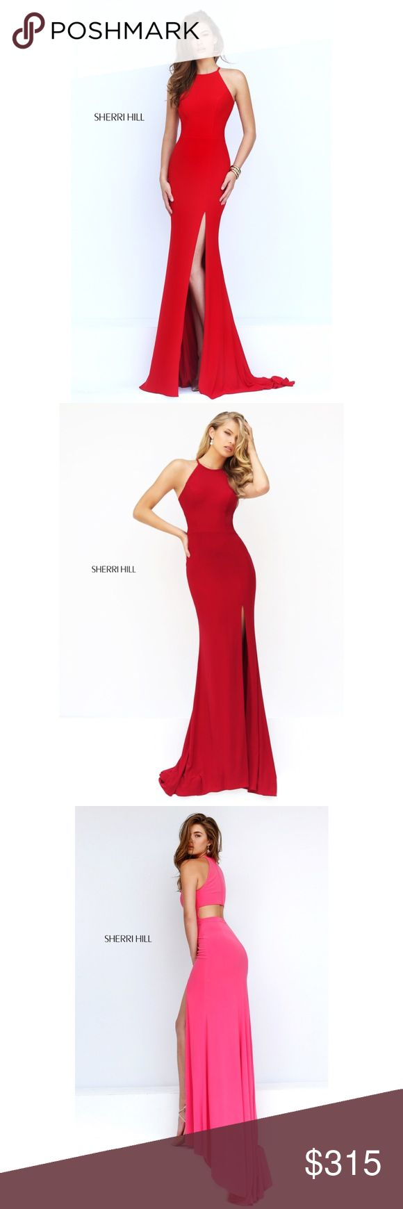 🔴SOLD🔴 Sherri Hill 32340 Selling it in red. I never got to wear it, so there is no damage or alteration. I can add more pictures if needed. Price negotiable on 🅿️🅿️ but firm here Sherri Hill Dresses Prom