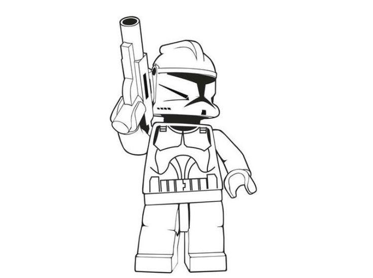 download and print lego stormtrooper star wars coloring. Black Bedroom Furniture Sets. Home Design Ideas