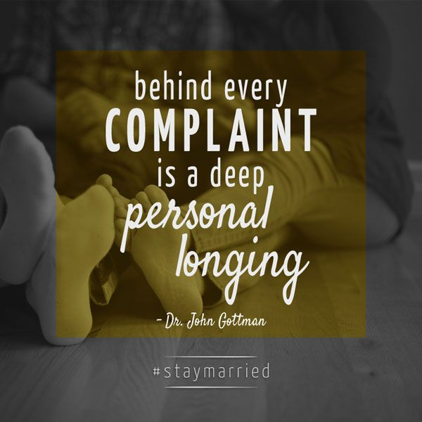 """Quotes About Love: """"Behind Every Complaint Is A Deep Personal Longing."""""""