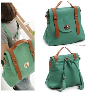 Deskripsi Produk    Model : Tas Import Premium model Satchel, Selempang dan Ransel bahan Kulit Leather PU  Code : Bag B756  Price : IDR 250.000  Detail : MATERIAL PU, SIZE L28CMXH30CMXW10CM STRAP 110CM COLOR GREEN    *Semua tas READY STOCK, 100% IMPORT & HIGH QUALITY      How to Order:  TEXT US @ 0853 10847007    with format:  ITEM CODE + COLOUR  NAME  ADDRESS  HANDPHONE NUMBER  PAYMENT MODE (ATM BCA/MANDIRI)  (Format sms tidak benar tidak akan dilayani)