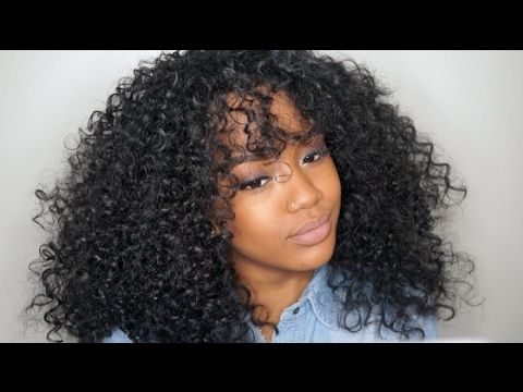 $25.99 WIG SLAY! Outre Dominican Curly | SamsBeauty.com - YouTube
