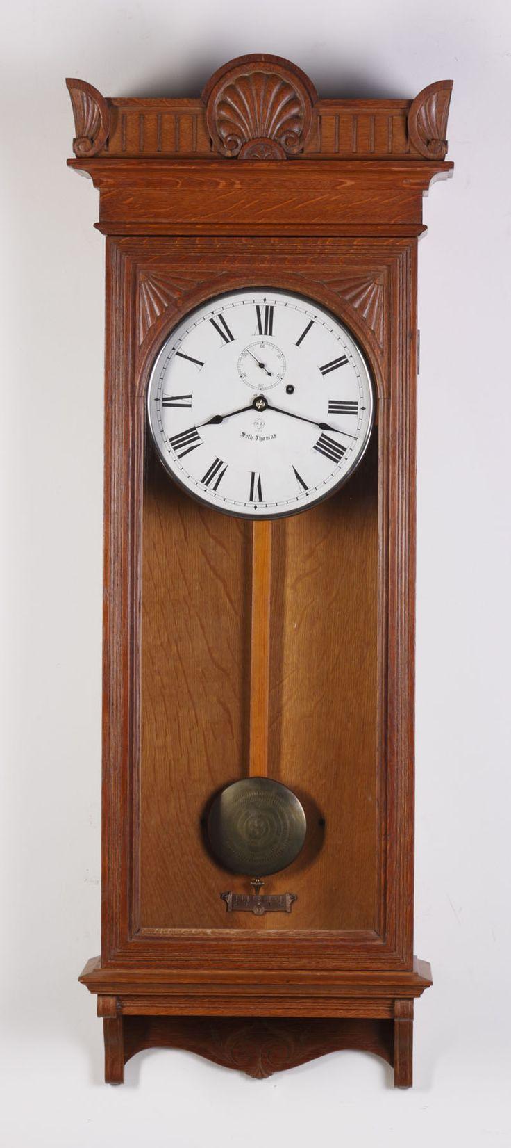382 best clock wall clock images on pinterest wall clocks seth thomas regulator 9 cottone auctions amipublicfo Choice Image