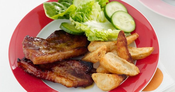 Try our sticky roast pork chops for a delicious versatile meal that's easy on the purse.