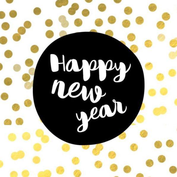 Happy new year wünscht Makerist.de