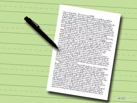 Pasos para redactar un ensayo