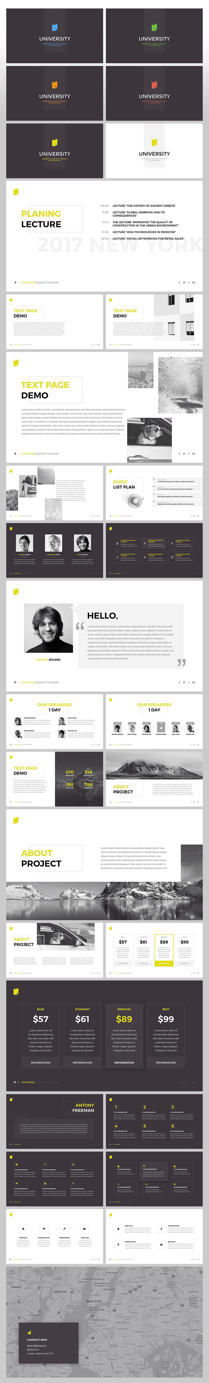 "Download: http://site2max.pro/university-keynote-template/ ""University"" Keynote template #university @keynote #key #presentation #slide #slides #marketing"