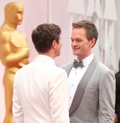 Neil Patrick Harris And David Burtka, 2015 - The Cutest Oscar Red Carpet Moments Of The Decade - Photos