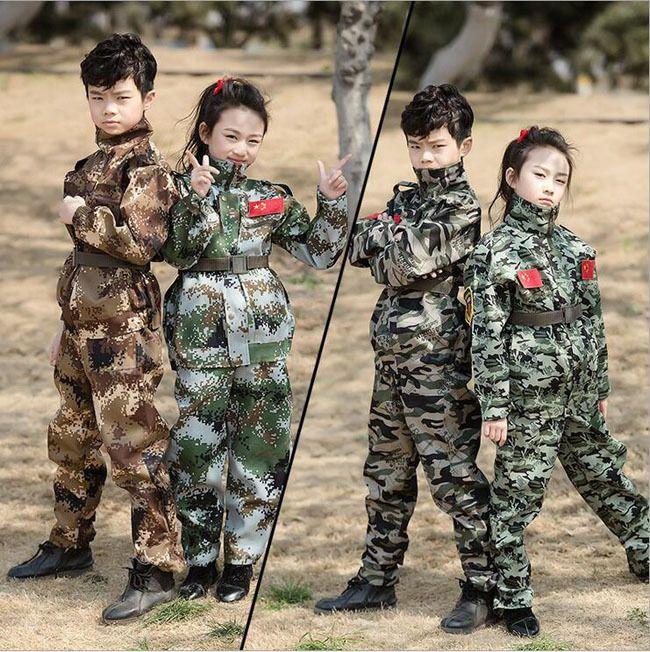 7544 Kids Children Tactical Uniform Unisex Military Training Jacket+Pant Outfits #Unbranded #BadgesPatches #DressyEverydayHoliday