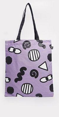 Eye Print Shopper Bag