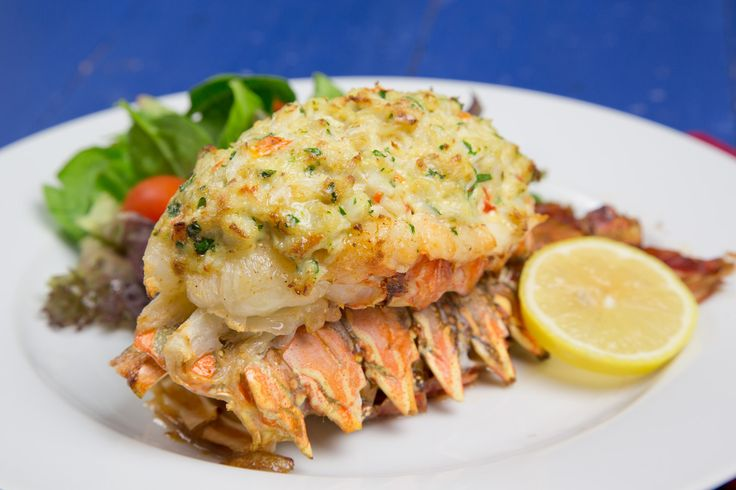Lobster stuffed with crab Imperial:  make a restaurant style meal at a fraction of the cost!