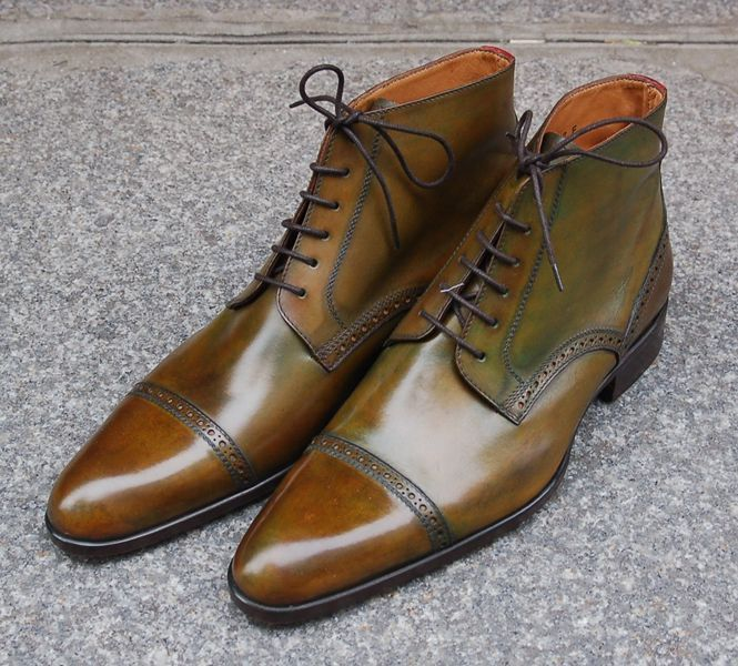 """Brodequin """"Feuilles d'Automne"""" - #Zapatos Marc Guyot 2015 #Shoes"""