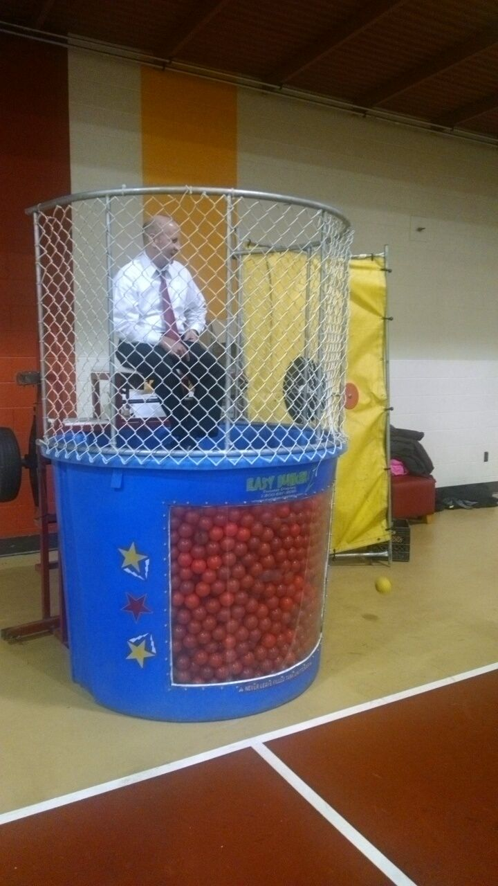 Save water!  ball pit dunk tank - Google Search