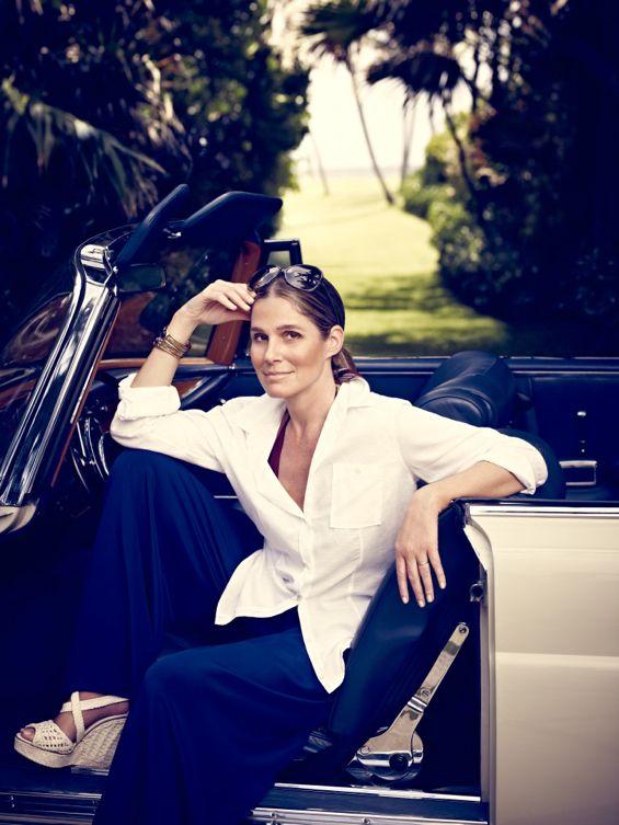 Aerin Lauder for British Vogue / Photo by Jason Bell