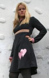 Fleece-kjole