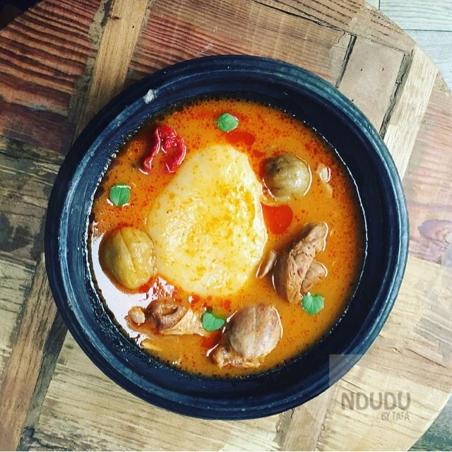 Ndudu by Fafa: Fresh Fufu in a pot recipe