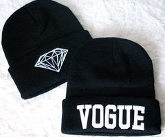 I'm loving chic/unconventional beanies for this Winter!