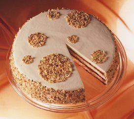 Baileys®-Torte                              -                                  Eine sahnige Torte mit Alkohol zu Feiertagen