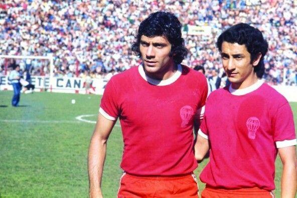 """Miguel Ángel Brindisi y Osvaldo """"Ossie"""" Ardiles Con El Club Atlético Huracán/ Miguel Angel Brindisi and Osvaldo """"Ossie"""" Ardiles, Club Atletico Huracan"""