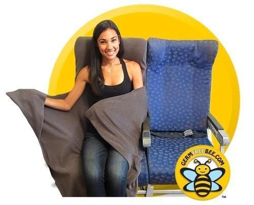 Germs Bee Gone: Ex-White House Employee Invents Sanitary Plane Seat Cover/Blanket