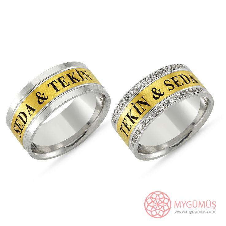 Gümüş Alyans MYA1011   #gümüş #alyans #çelik #yüzük #ring #wedding #evlilik #düğün #söz #nişan #mygumus #mygumuscom #çift #erkek #kadın #woman #man #moda #takı #jewellry