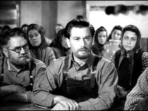 49th PARALLEL (1941) - Leslie Howard, Laurence Olivier. A WW2 U-boat crew is stranded in northern Canada. To avoid internment, they must make their way to the border and get into the still-neutral USA.