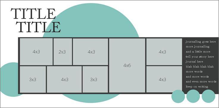 Double page design: Week 1 | Ella Publishing Co.