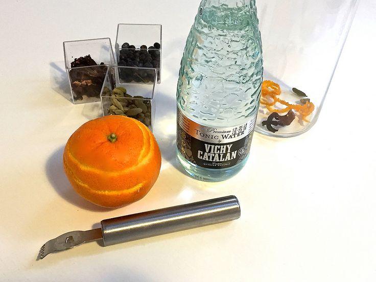 La nueva Premium Tonic Water by Vichy Catalan con especias y unas rodajas de naranja