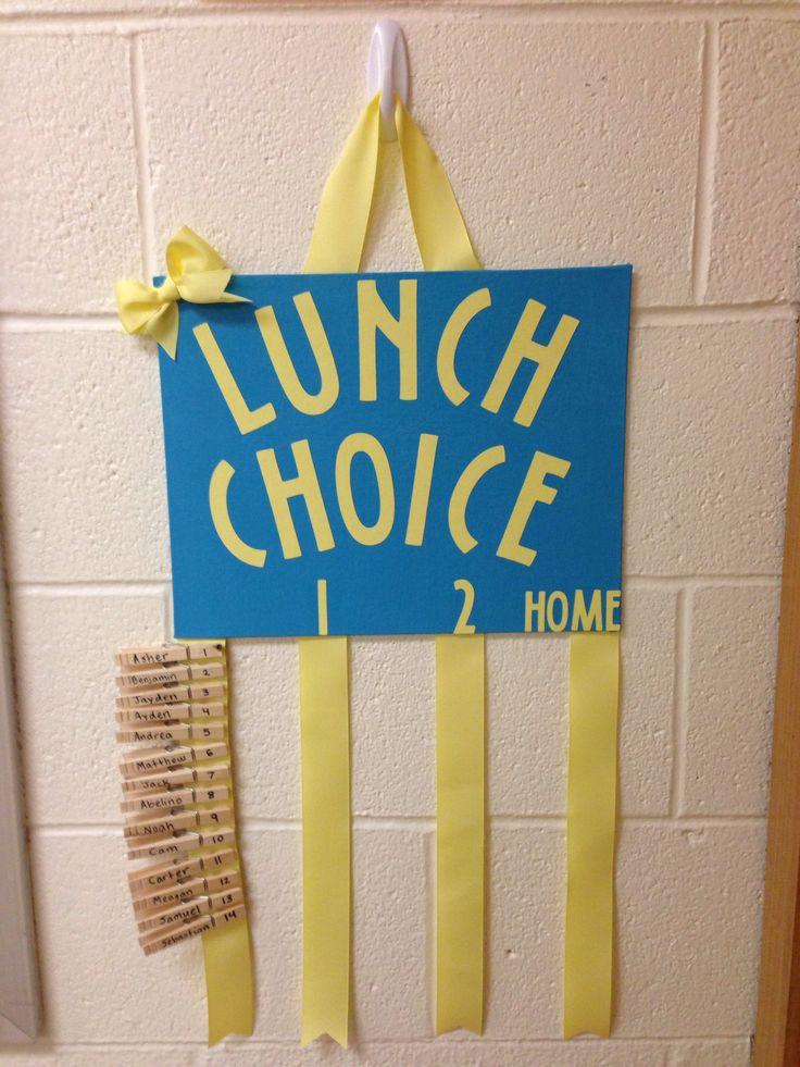 Lunch Choice Board