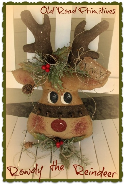 Wood patterns for christmas reindeer woodworking for Christmas wood craft patterns