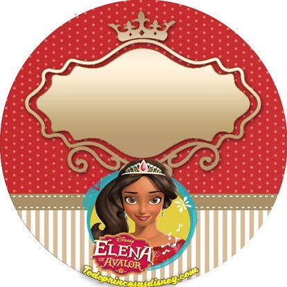 Este nuevo Kit Imprimible de Elena de Avalor resultará espectacular para lograr una mágica decoración de fiesta con etal temática. En breves pasos podrás descargar los diseños para editarlos y colo…