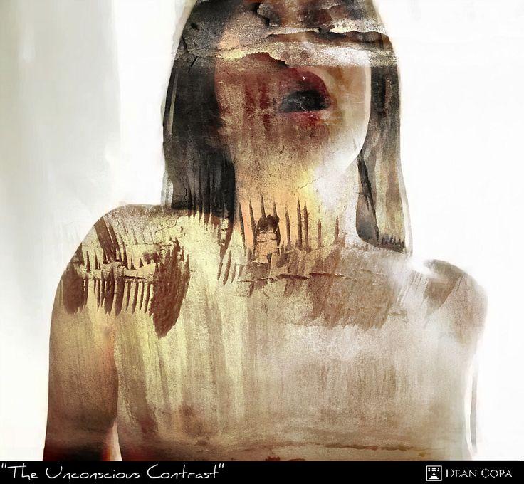 """The Unconscious Contrast"" 2014 by Dean Copa.   #ModernArt #ContemporaryArt #Fineart #ArtOfTheDay #Kunst #Art"