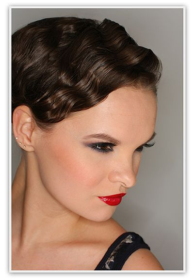Make Up For Ever Fall 2012 Black Tango Makeup