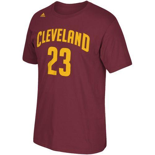 Adidas Men's Cleveland Cavaliers LeBron James No. 23 High Density T-shirt