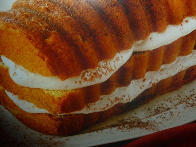 torta di mais - variegata al cacao farcita
