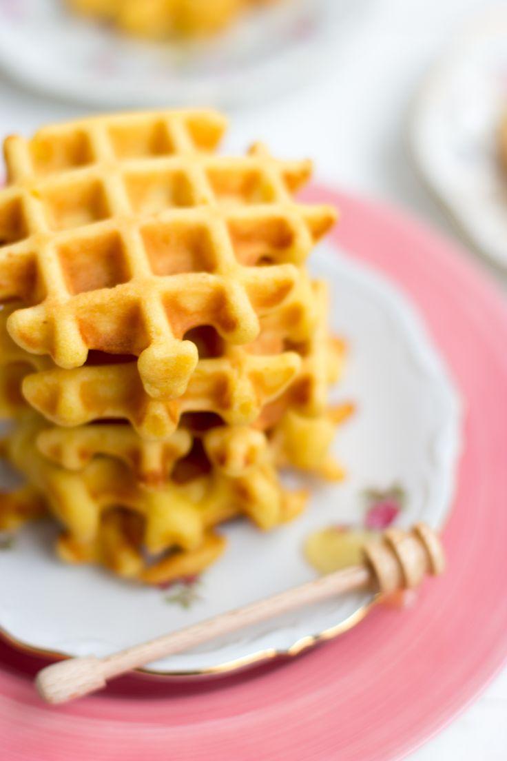 Honingwafeltjes - snel, gemakkelijk & gezond // Kokerellen