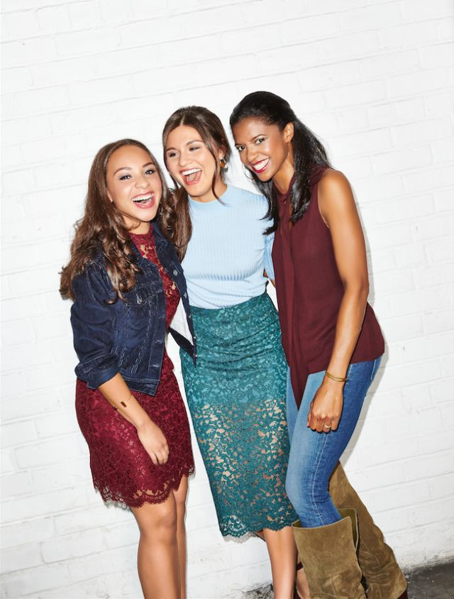 Phillipa Soo as Eliza Schuyler Hamilton, Alexander's wife; Renée Elise Goldsberry as Eliza's sister, Angelica, who also loved Hamilton; and Jasmine Cephas Jones in a dual role as youngest sister Peggy and the adulterous Maria Reynolds