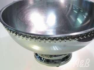 20qt. Stainless Steel Punch Bowl