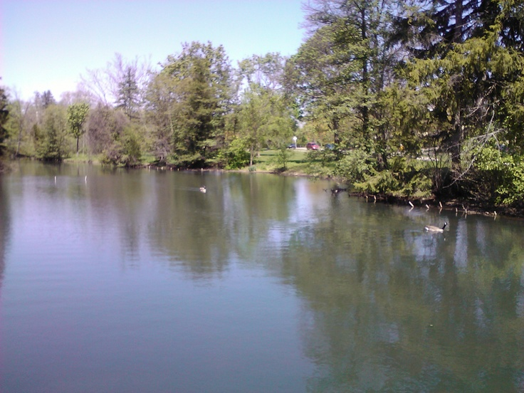 Quarton Lake - Birmingham, Michigan - Birmingham will always be home...where we used to ice skate, eat Olga's souvlaki s and other things