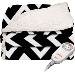 Always a great idea for me!  I love Sherpa blankets! Heated Sherpa/Plush Electric Throw