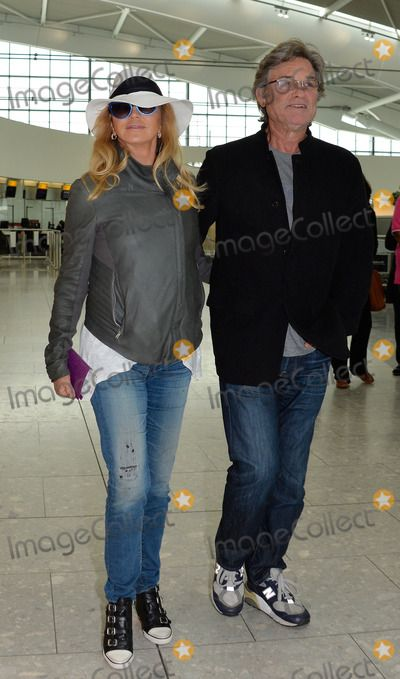 Goldie Hawn & Kurt Russell at Heathrow heading to Turkey - May 2014