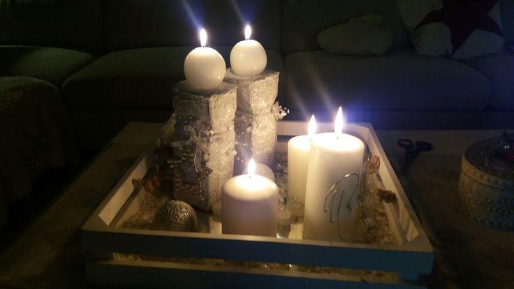 Valmiit kyntteliköt.