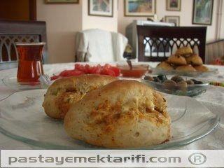 Soğanlı Fransız Ekmeği resimli yemek tarifi, Kekler - Ekmekler tarifleri