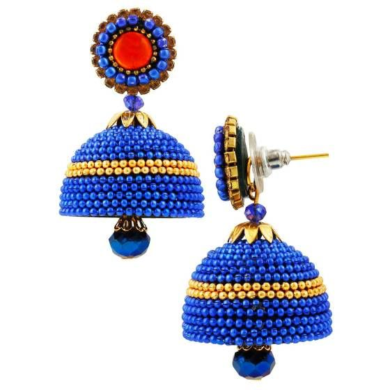 Shopo.in : Buy Handcrafted Ballchain Jhumka online at best price in Bikaner, India